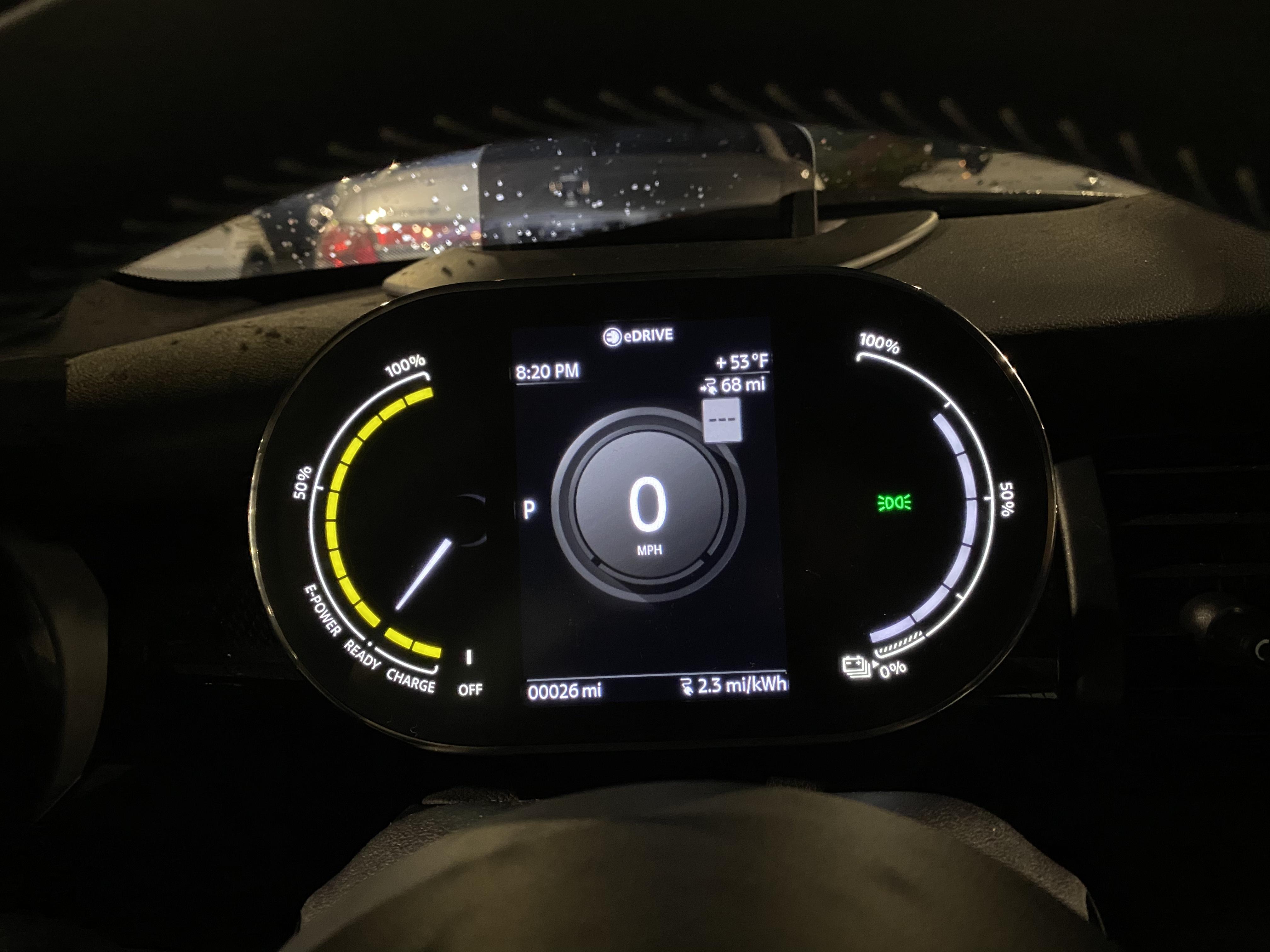 Beautiful Behind Steering wheel screen